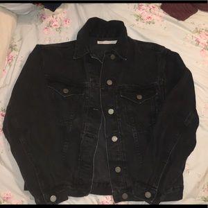 Black Denim Jacket!